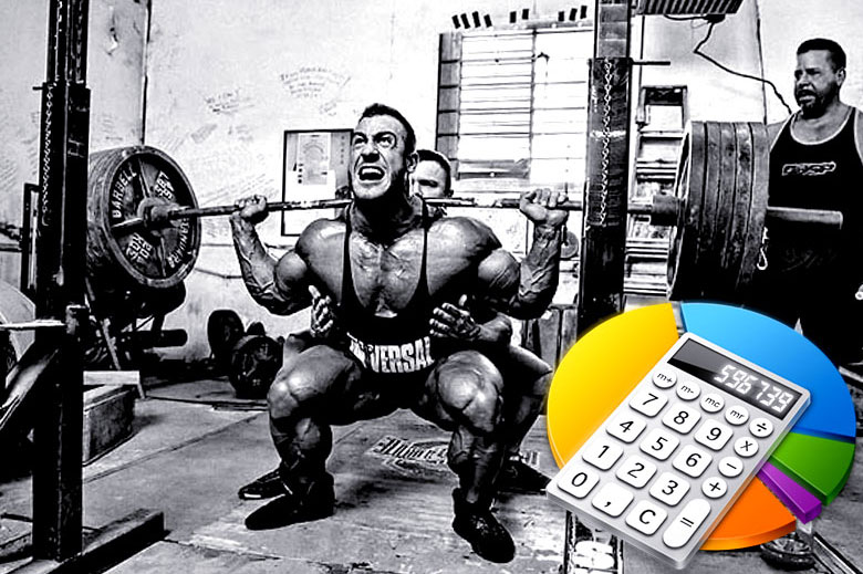 Одноповторный максимум расчет с помощью калькулятора