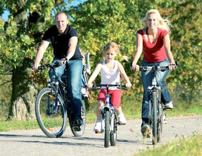 Велоспорт, как вариант для семейного времяпровождения