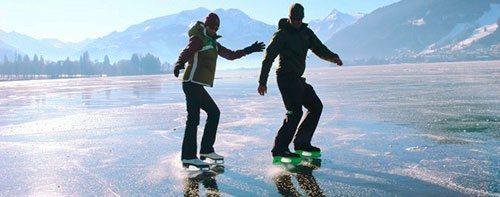Катание на коньках. Зимние виды спорта